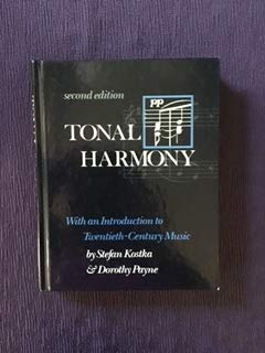 9780075570165: Tonal Harmony: with an Introduction to Twentieth-Century Music