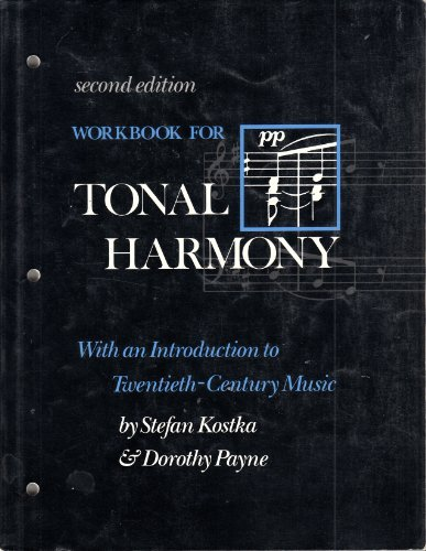 9780075570172: Workbook for Total Harmony: With an Introduction to Twentieth-Century Music