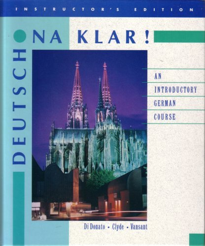 9780075570318: Deutsch Na Klar: An Introductory Course