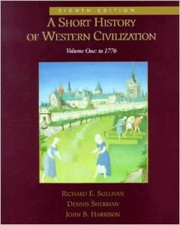 9780075570844: A Short History of Western Civilization