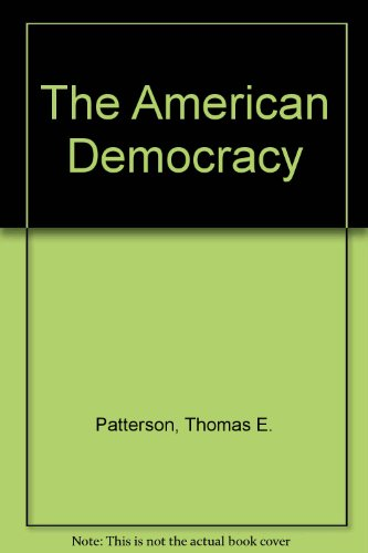 9780075571230: The American Democracy
