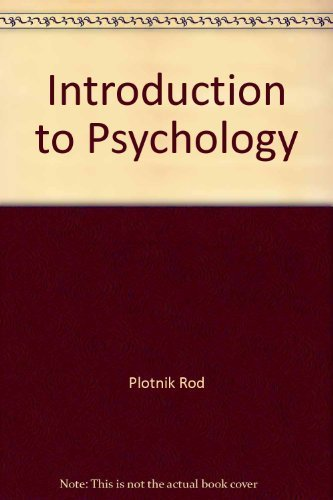 9780075571247: Introduction to Psychology