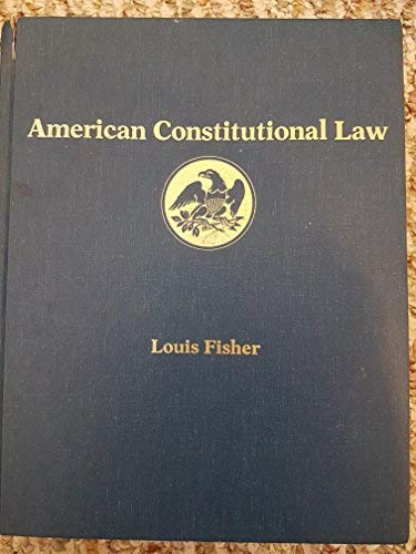 9780075571254: American Constitutional Law