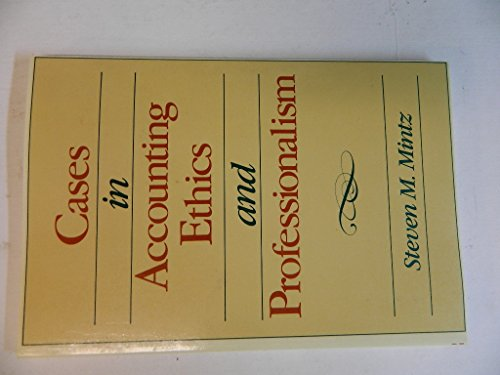 9780075571421: Cases in Accounting Ethics and Professionalism