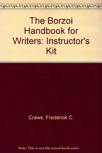 9780075571797: The Borzoi Handbook for Writers: Instructor's Kit