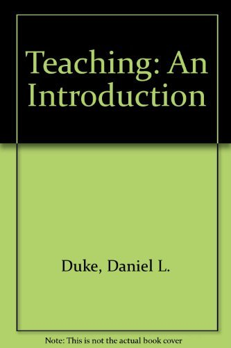 9780075571933: Teaching: An Introduction