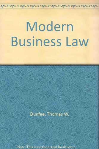 9780075572114: Modern Business Law