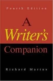 9780075572527: A Writer's Companion