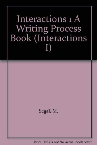 9780075575269: Interactions 1 A Writing Process Book (Interactions I)