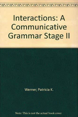 9780075575368: Interactions II: A Communicative Grammar