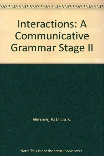 9780075575368: Interactions II: A Communicative Grammar