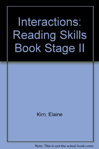 9780075575382: Interaction II: Reading Skills Book (Interactions II)