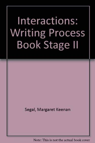 9780075575405: Interactions II: A Writing Process Book
