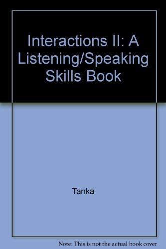 9780075575429: Interactions II: A Listening/Speaking Skills Book