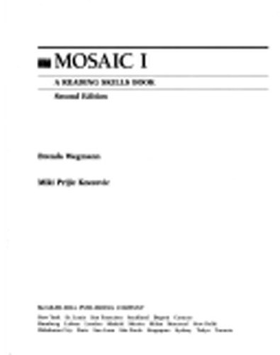 9780075575528: Mosaic I: A Reading Skills Book