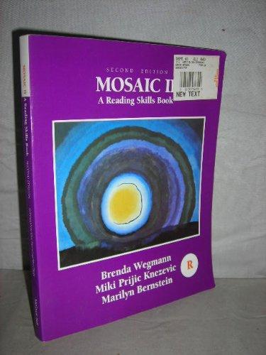 9780075575665: Mosaic II: A Reading Skills Book