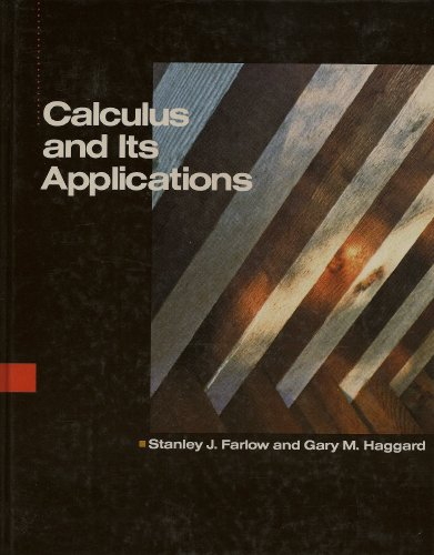 9780075577140: Calculus and Its Applications