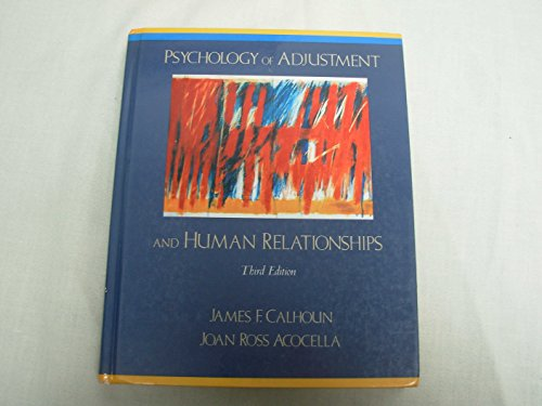 9780075577386: Psychology of Adjustment and Human Relations