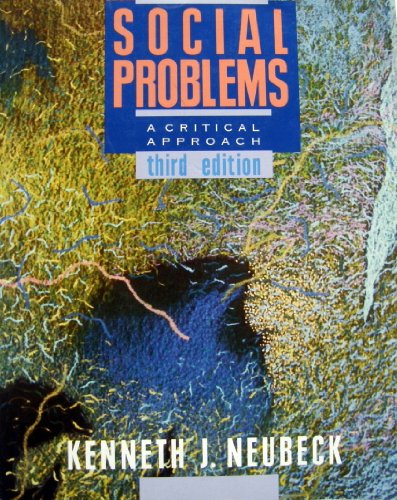 9780075577416: Social Problems: A Critical Approach