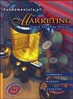 Fundamentals of Marketing: Montrose S. Sommers;
