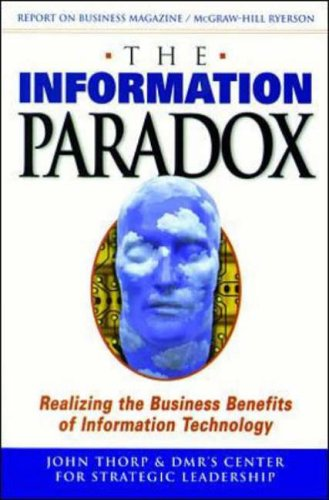 9780075601036: Information Paradox: Realizing the Business Benefits of Information Technology