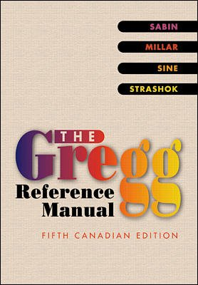 9780075604242: The Gregg Reference Manual
