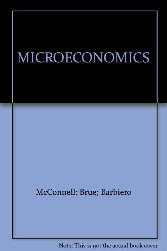 9780075604587: MICROECONOMICS