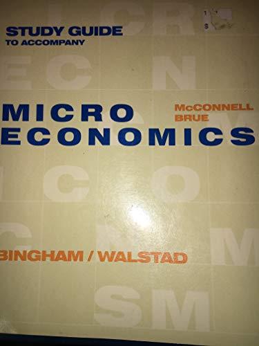 9780075604600: STUDY GUIDE TO ACCOMPANY MICROECONOMICS