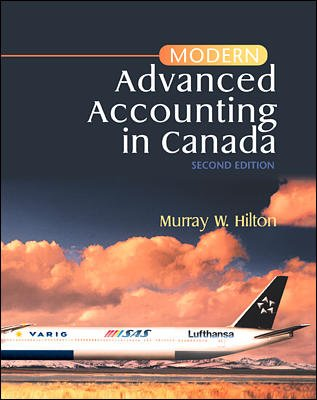 9780075607946: Modern Advanced Accounting in Canada
