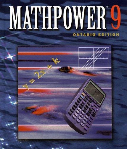 9780075607960: MATHPOWER 9 Ontario Edition