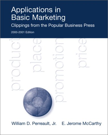 Applications in Basic Marketing: Perreault, William D.,
