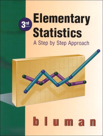 9780075610502: Elementary Statistics: Step by Step Approach