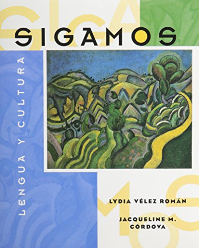 9780075610601: Sigamos: Lengua y cultura (Student Edition + Listening Comprehension Audio Cassette)