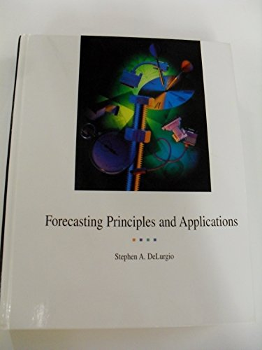 9780075611202: Forecasting, Principles, and Application (w/disk)