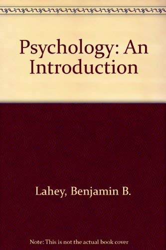9780075611226: Psychology: An Introduction