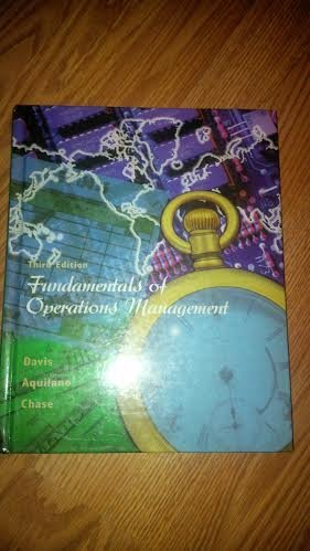 9780075612865: Fundamentals of Operations Management (The Irwin/McGraw-Hill Series: Operations & Decision Sciences)