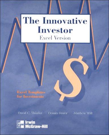 9780075615583: Innovator Investor