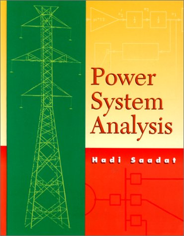 Power System Analysis: Hadi Saadat