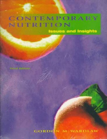 9780075618058: Contemporary Nutrition: Issues and Insights