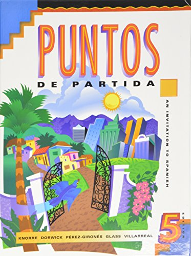 9780075618614: Puntos de Partida: An Invitation to Spanish - Student Text with Audiocassette and CD: Student Text AND Audiocassette and CD