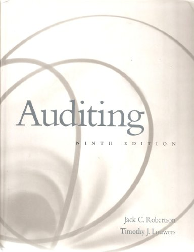 9780075618867: Auditing, Internet Resource Guide for Use With Auditing (Auditing and Assurance Services)