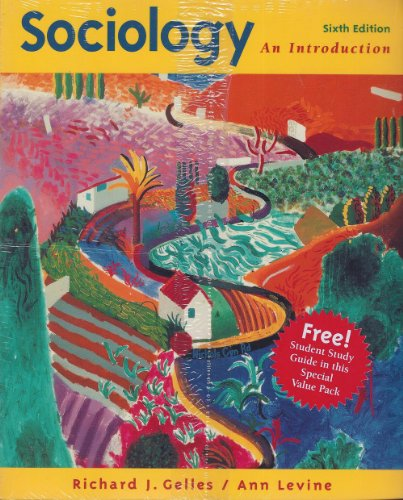 9780075619185: Sociology: An Introduction With Student Guide Package