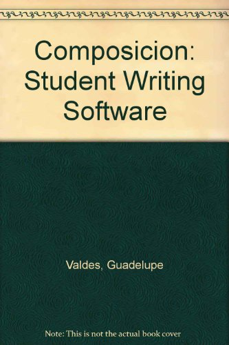 9780075619291: Composicion: Student Writing Software