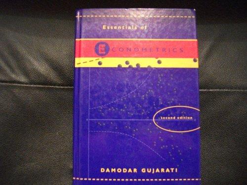 9780075619352: Essentials of Econometrics (with disk)