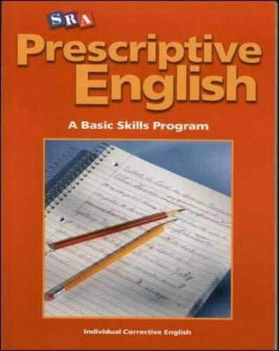 9780075689553: Prescriptive English