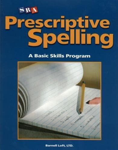 9780075689676: Prescriptive Spelling - Student Edition Book C