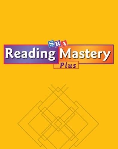 9780075690191: Reading Mastery Plus: Workbook A, Grade 1