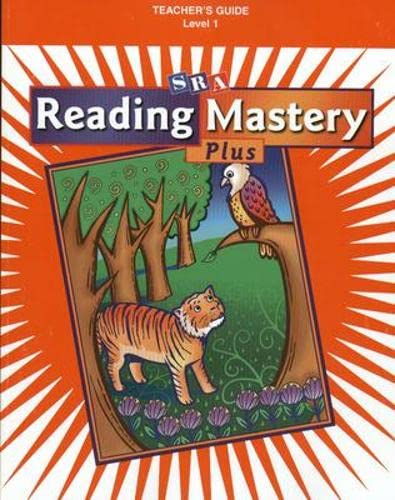 9780075690245: Reading Mastery Plus, Level 1: Teacher's Guide