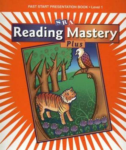 9780075690535: Reading Mastery 1 2002 Plus Edition: Fast Start Presentation Book
