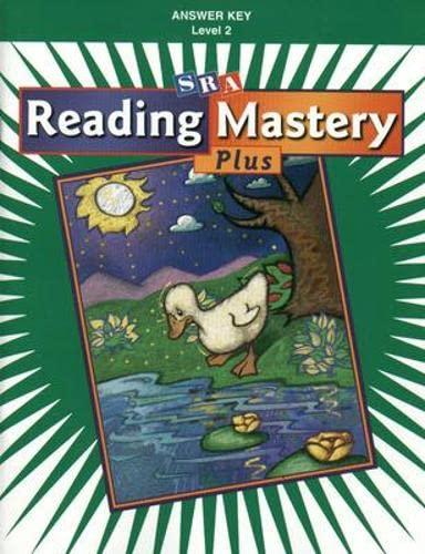 9780075690962: Reading Mastery Plus Level 2: Answer Key Paperback